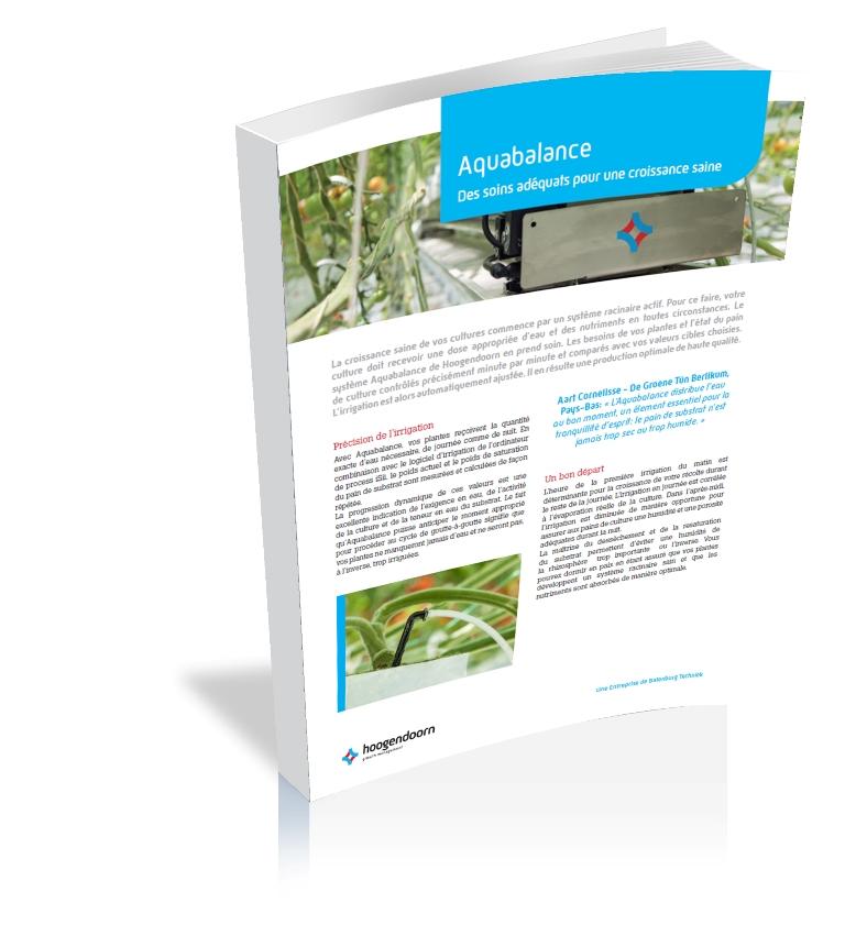 Aquabalance hoogendoorn growth management - Frequence arrosage tomate ...